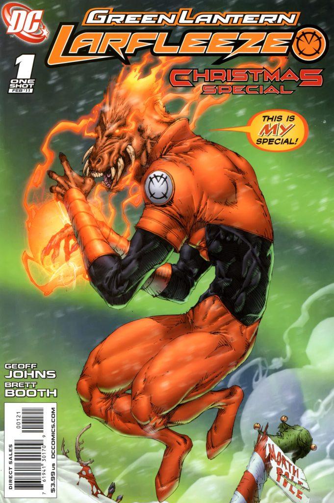 Green Lantern Larfleeze Christmas Special