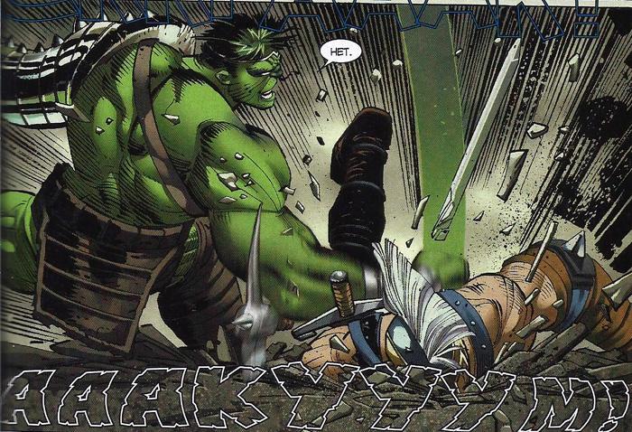 Hulk bije w każdym języku.