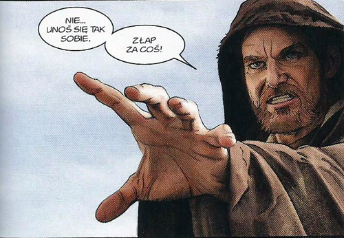Stary Ben Kenobi.