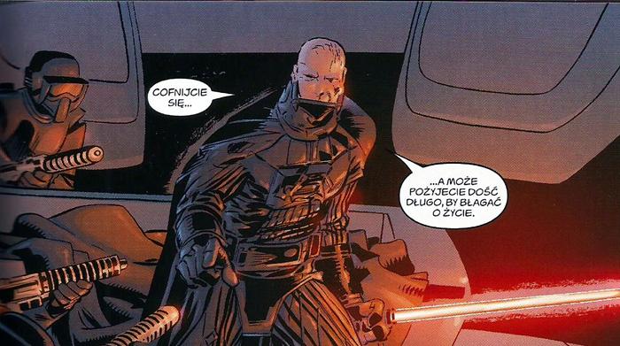 Vader zawsze w formie.