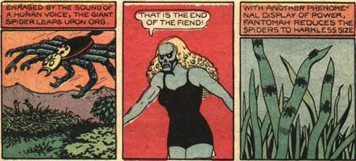 Fantomah w demonicznej formie.
