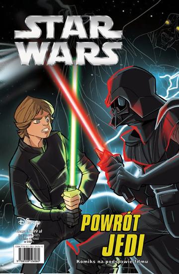 Okładka Powrót Jedi komiks