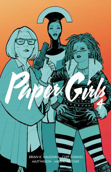 Paper Girls 4 - okładka