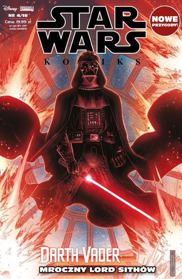 Okładka Star Wars komiks 4/2018