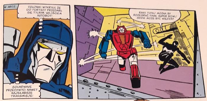 Transformers Kolekcja G1 Spider-Man