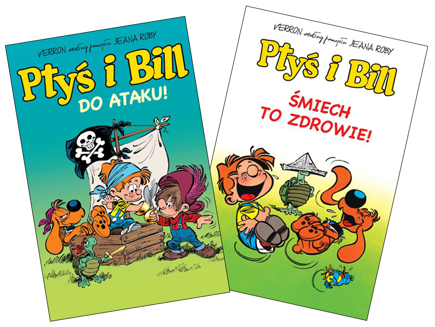 Ptyś i Bill komiks