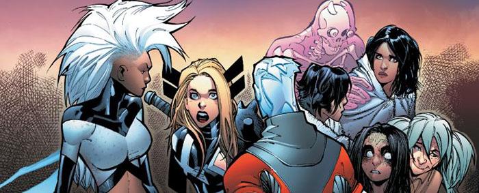 Extraordinary X-Men Przystań X