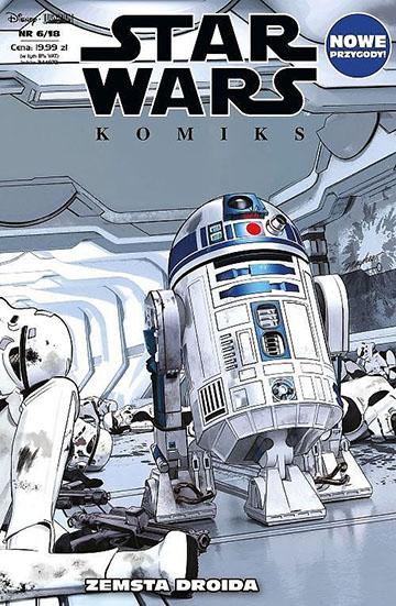 Star Wars Komiks Zemsta Droida