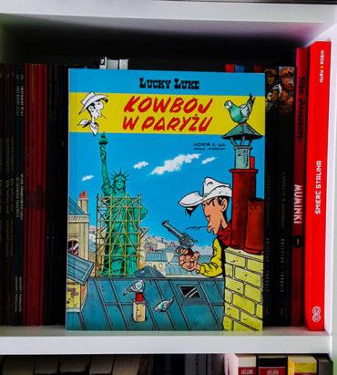 Lucky Luke Kowboj w Paryżu