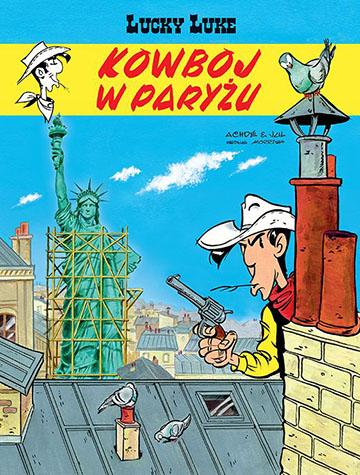 Lucky Luke Kowboj w Paryżu okładka