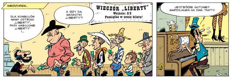 Lucky Luke Kowboj w Paryżu Recenzja