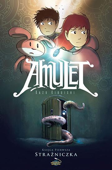 komiksy dla dzieci amulet