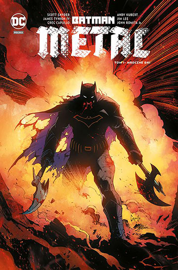 Batman Metal Mroczne Dni tom 1
