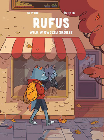 komiksy dla dzieci rufus wilk w owczej skórze