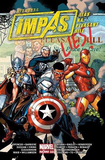 Avengers Impas Atak na Pleasant Hill okładka
