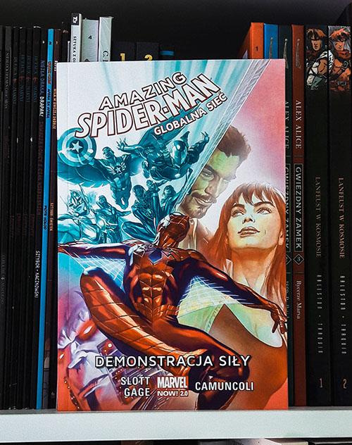 Amazing Spider-Man Demonstracja Siły