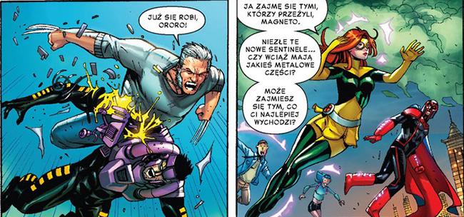 II Wojna Domowa X-Men Recenzja