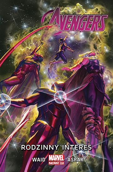 Avengers Rodzinny Interes okładka