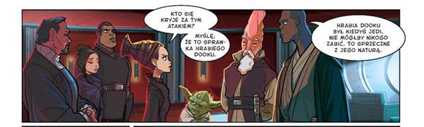 Komiks Atak Klonów Recenzja