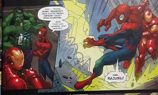 Marvel Komiks Recenzja