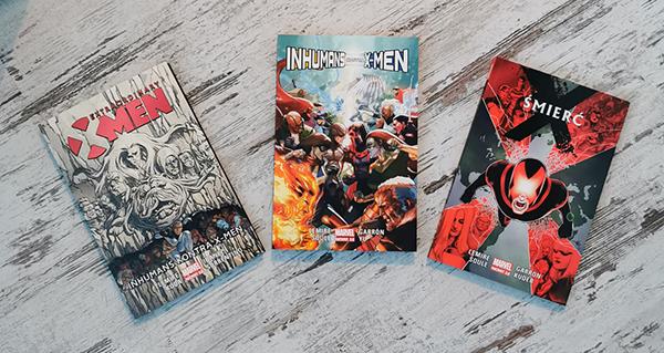 Jak czytać Inhumans kontra X-Men