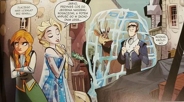 Komiks Kraina Lodu - W poszukiwaniu siebie kadr