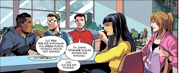 Mighty Morphin Power Rangers Rok Pierwszy recenzja