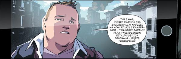 Mighty Morphin Power Rangers Rok Pierwszy komiks