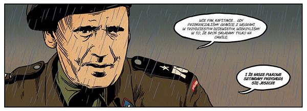 Komiks Wrzesień pułkownika Maczka