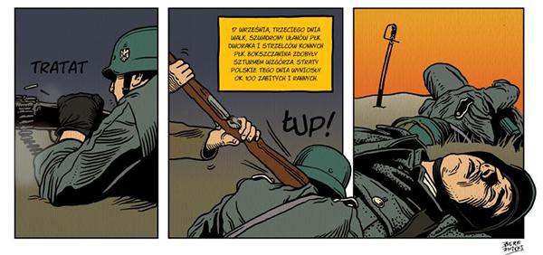 Wrzesień pułkownika Maczka komiks