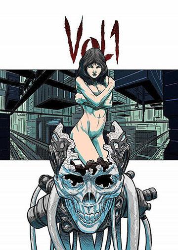 okładka komiks vol 1