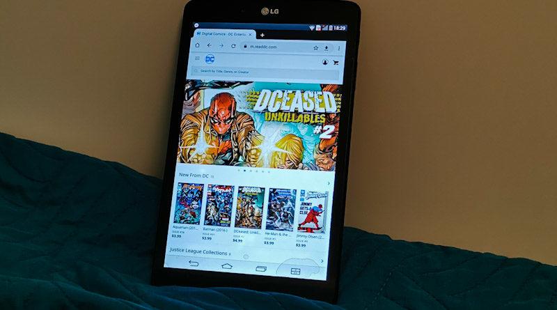 darmowe komiksy online dc comics