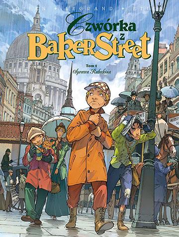 Czwórka z Baker Street tom 2 okładka