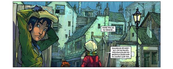 Czwórka z Baker Street tom 2 bohaterowie