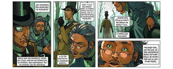 Komiks Czwórka z Baker Street tom 2