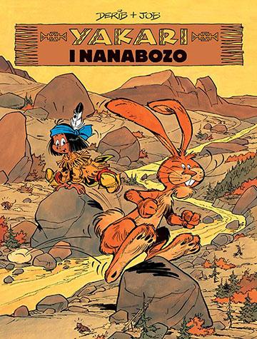 Yakari i Nanabozo tom 4 okładka