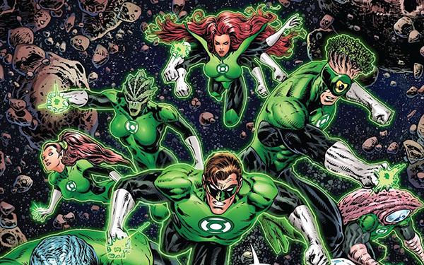 Green Lantern tom 1 Galaktyczny StróżPrawa recenzja