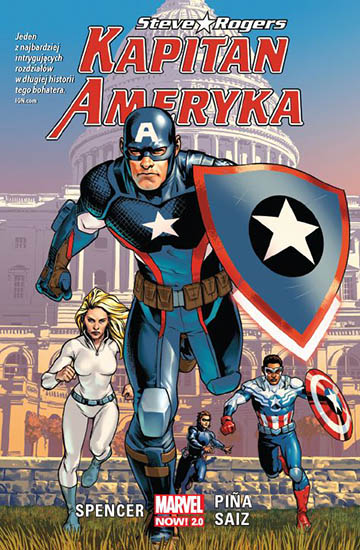 Kapitan Ameryka: Steve Rogers tom 1 okładka