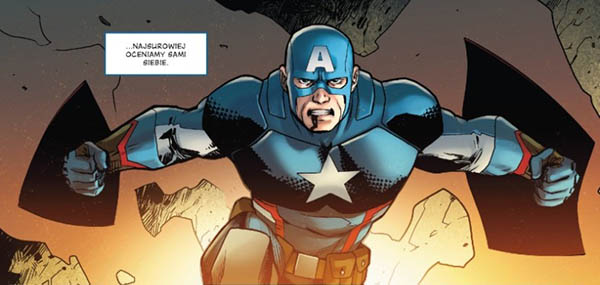 Kapitan Ameryka: Steve Rogers tom 1 recenzja