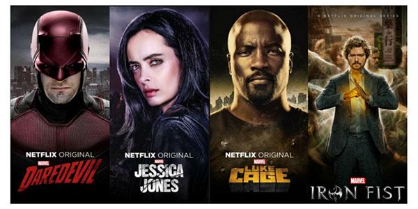 Seriale Marvel Netflix