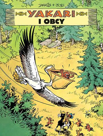 Komiks Yakari i obcy okładka