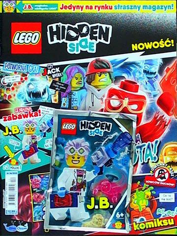 Magazyn Lego Hidden Side 4/2020 recenzja