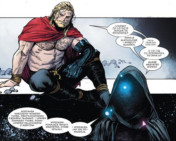 komiks niegodny thor