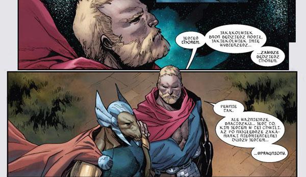 recenzja komiksu niegodny thor