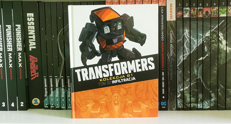 Transformers kolekcja g1 tom 32