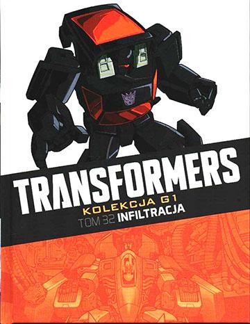 Transformers kolekcja g1 tom 32 infiltracja