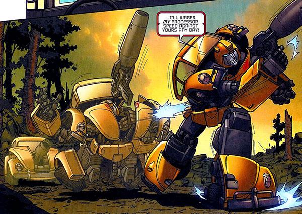 Transformers infiltracja