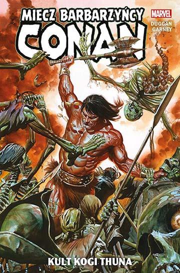Conan Miecz Barbarzyńcy tom 1 okładka
