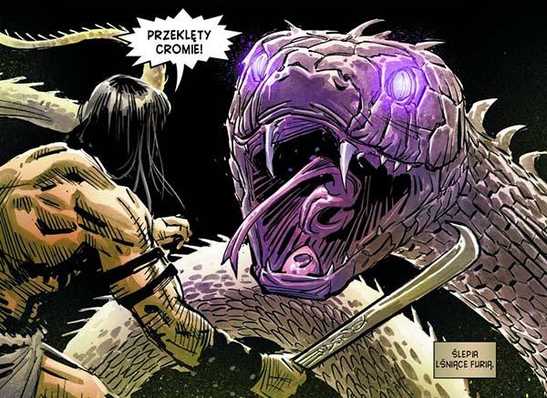 Conan Miecz Barbarzyńcy tom 1 recenzja