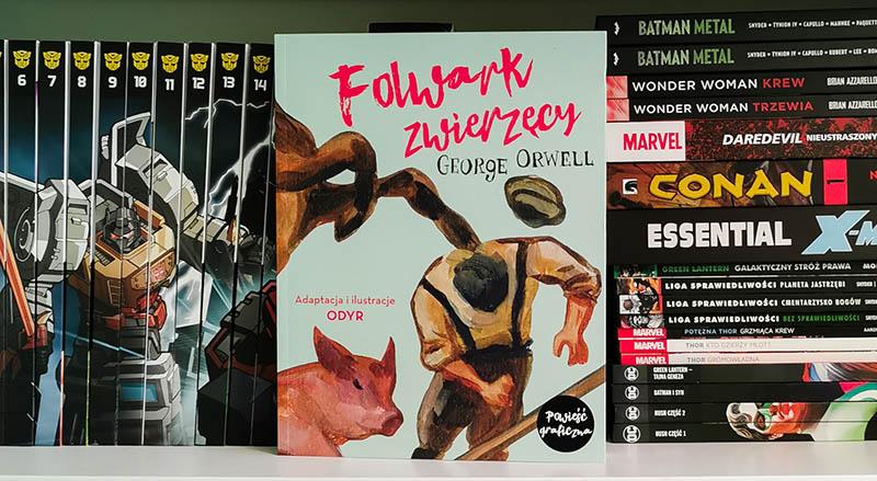 folwark zwierzęcy komiks
